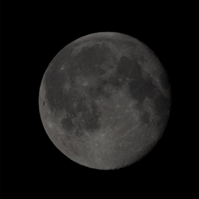 Waning Gibbous Moon 96.3% illuminated