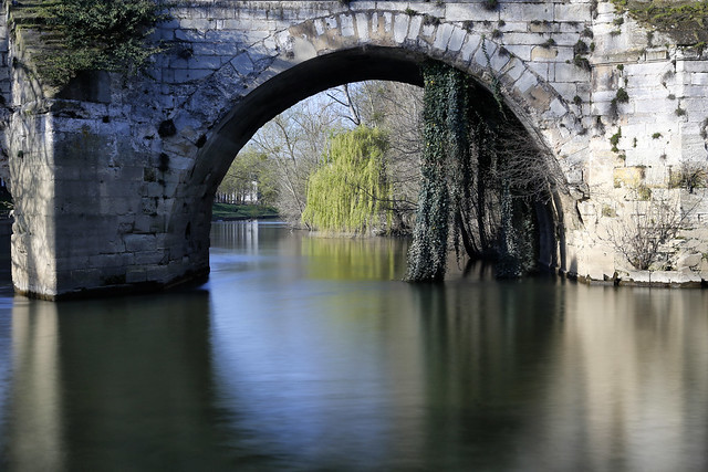 L'arche du vieux pont // The old bridge arch