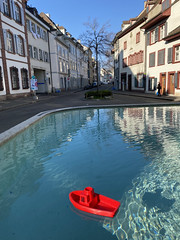 The Red Boat, Basel/Switzerland