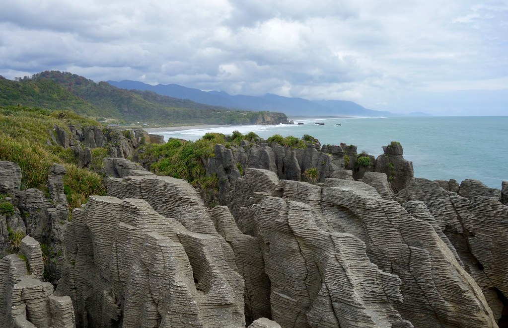 Pancake Rocks-in New Zealand  ( in explore)