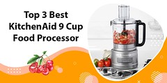 [TOP 3] Best KitchenAid 9 Cup Food Processor Reviews in 2021