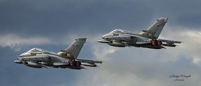 15 Sqn OCU RAF Panavia Tornado GR4
