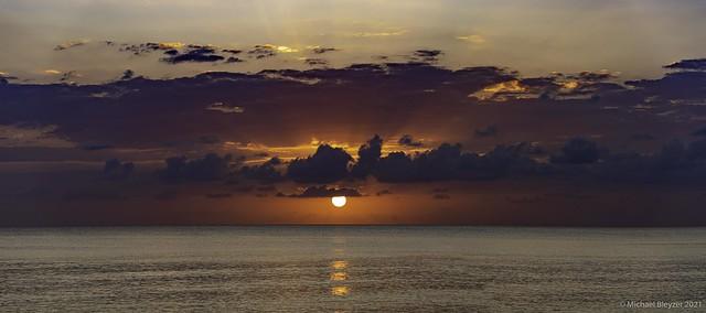 Tonight's sunset pano