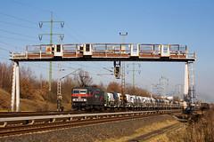 Delta rail 143 326 + goederentrein Frankfurt (Oder) - Bad Bentheim - Wau00dfmannsdorf 2