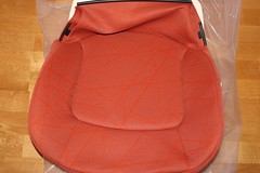 New Smart Roadster 452 seat cushion scribble red