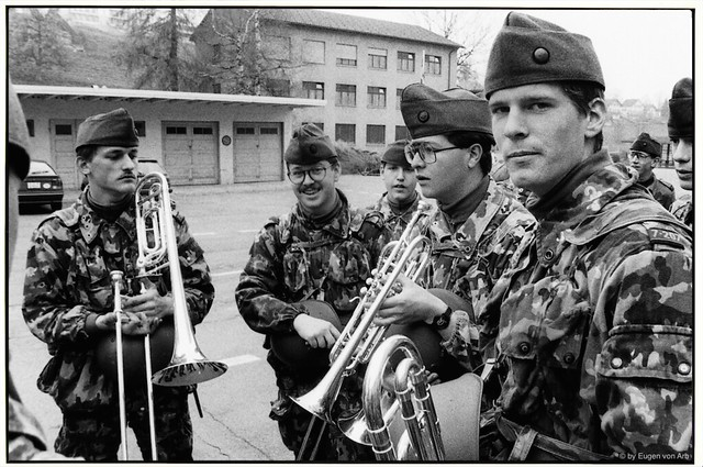 In the Green Skin - Army service 1990