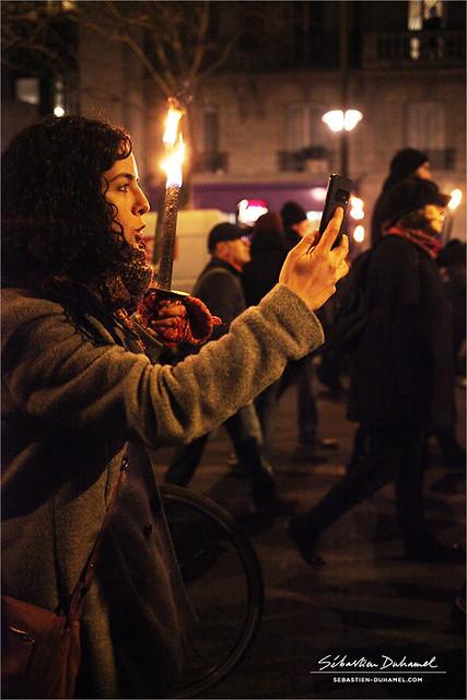 Manon Aubry ✔ Mobilisation contre le projet de réforme des Retraites → Acte 12 à Paris IMG200123_027_©2020 | Fichier Flickr 1000x667Px Fichier d'impression 5610x3740Px-300dpi