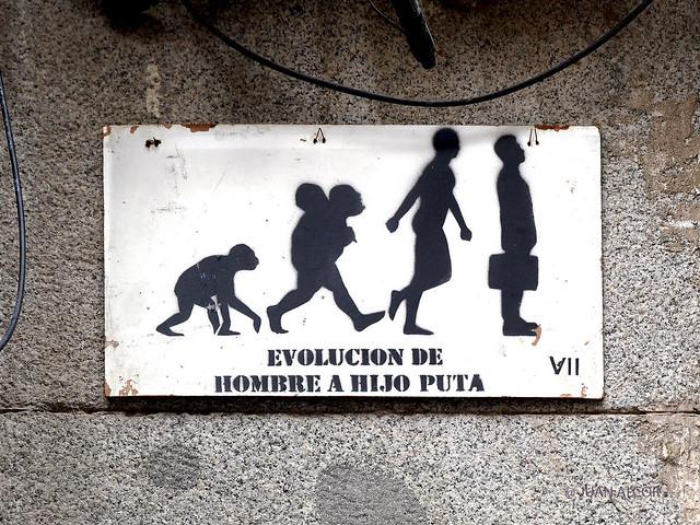 Arte Urbano. Placa de VII - 2021/02 (Lavapiés, Madrid)