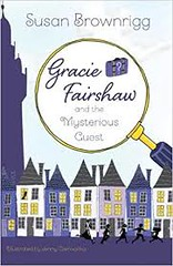 Gracie Fairshaw and the Mysterious Guest - book cover