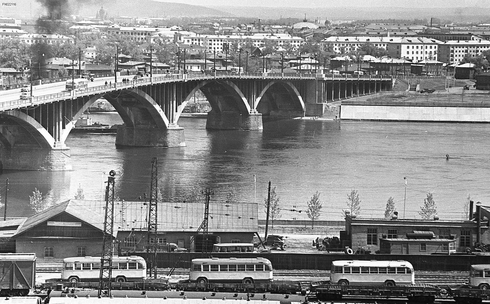 1965. Вид на город