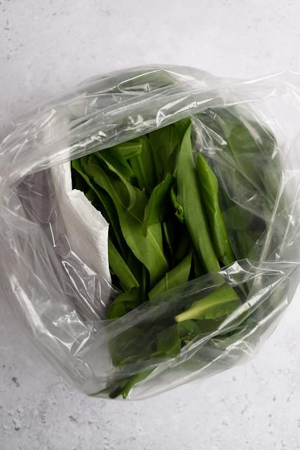 Foraged Wild Garlic