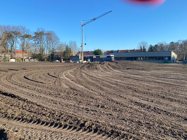 Renovatie Campus Rustoord - Aanleg Kunstgrasveld