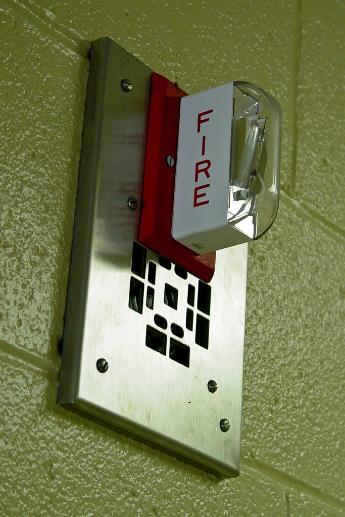 Fire alarm in Roop Hall [02]