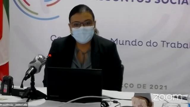 21.03. XIV Reunião de Ministros do Trabalho e Assuntos Sociais da CPLP