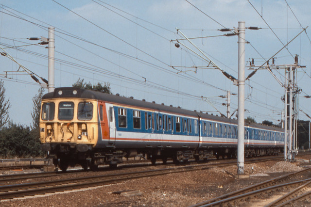 British Rail Class 312 - Marks Tey