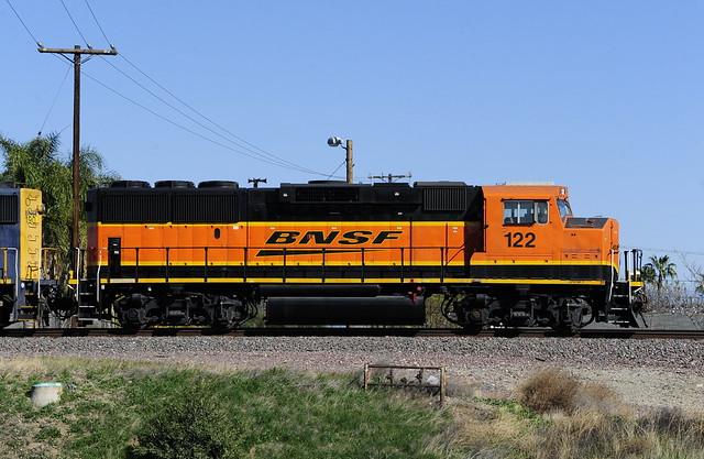 My old friend BNSF122 GP60M