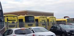 Withdrawn TB's 104, 107, 103, 105 & 108 at Seafield Works (GF) (Feb2021) (S9+)