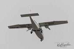 Malta School of Flying Tecnam P2006T, reg 9H-PAT, cn 091 Circuit flying on approach RWY 13, LMML (01.03.2021)