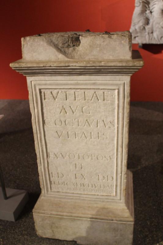 Altar to Tutela Augusta