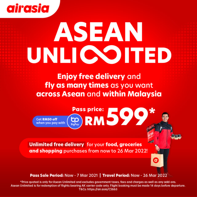airasia UnlimitedPass