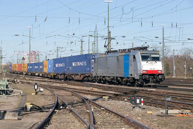 Railpool 186 450 Basel Badischer Bahnhof