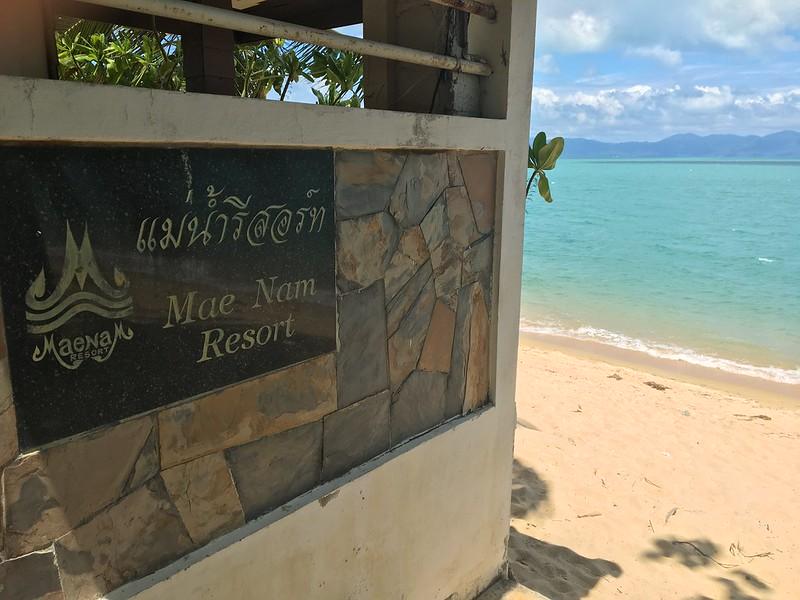 maenam beach - maenam resort メナムビーチ コサムイ