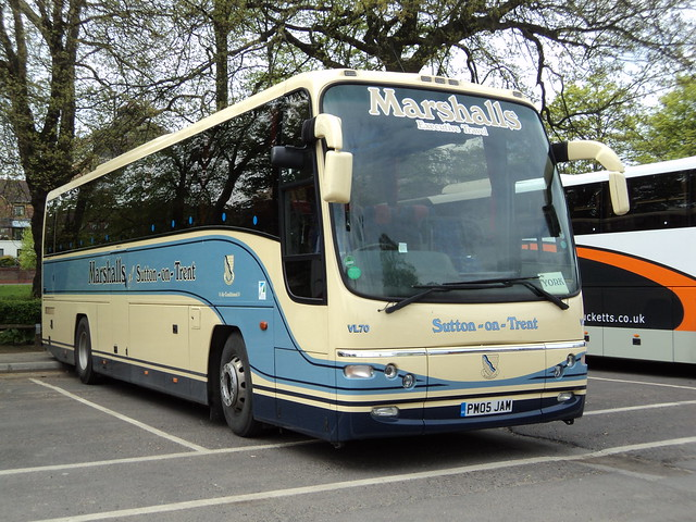 Marshalls Coaches of Sutton on Trent VL70 PM05JAM