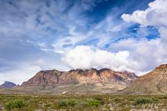 Texas Clouds - Big Bend national Park, Texas