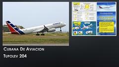 1516_Cubana de AviacionTupolev 204