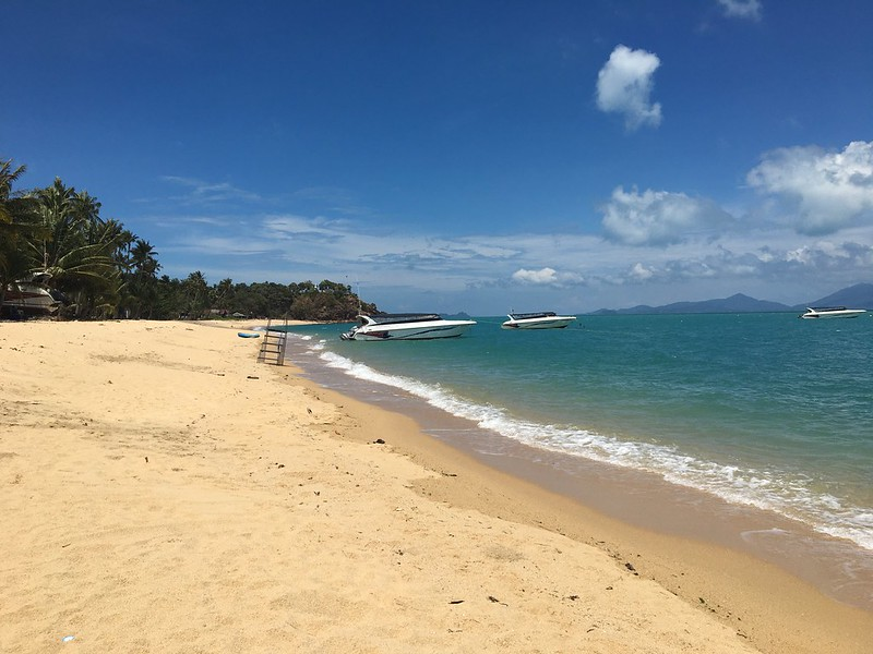 maenam beach -lomprayah pier メナムビーチ コサムイ