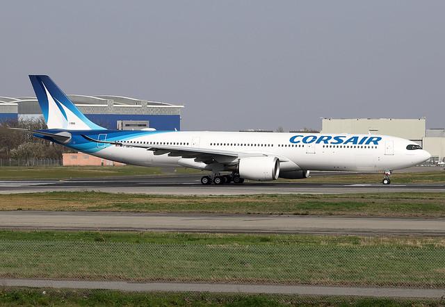CORSAIR / Airbus   A 330-900   F.WWCG  msn 1986 / LFBO - TLS / mars 2021
