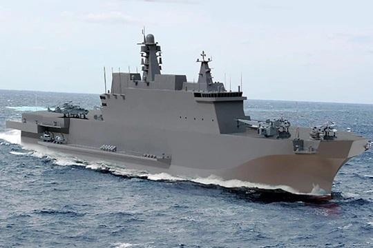 В Крыму начали формировать корпуса будущих кораблей-вертолетоносцев МАШИНОСТРОЕНИЕ,СУДОСТРОЕНИЕ