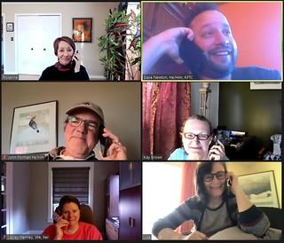 KUUJAN and KFTC Phone Bank 3-2-21