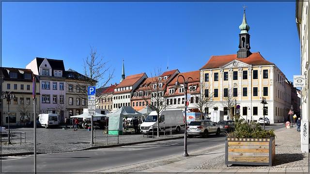 Marktplatz zu Radeberg
