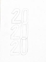 202020 website logo sketch