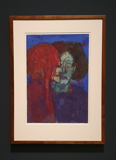 Couple by Emil Nolde at The Städel, Frankfurt/Main