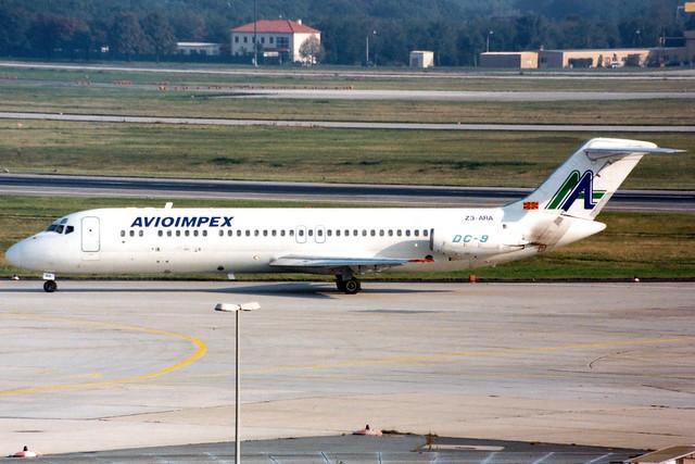 Avioimpex | McDonnell Douglas DC-9-30 | Z3-ARA | Frankfurt Main