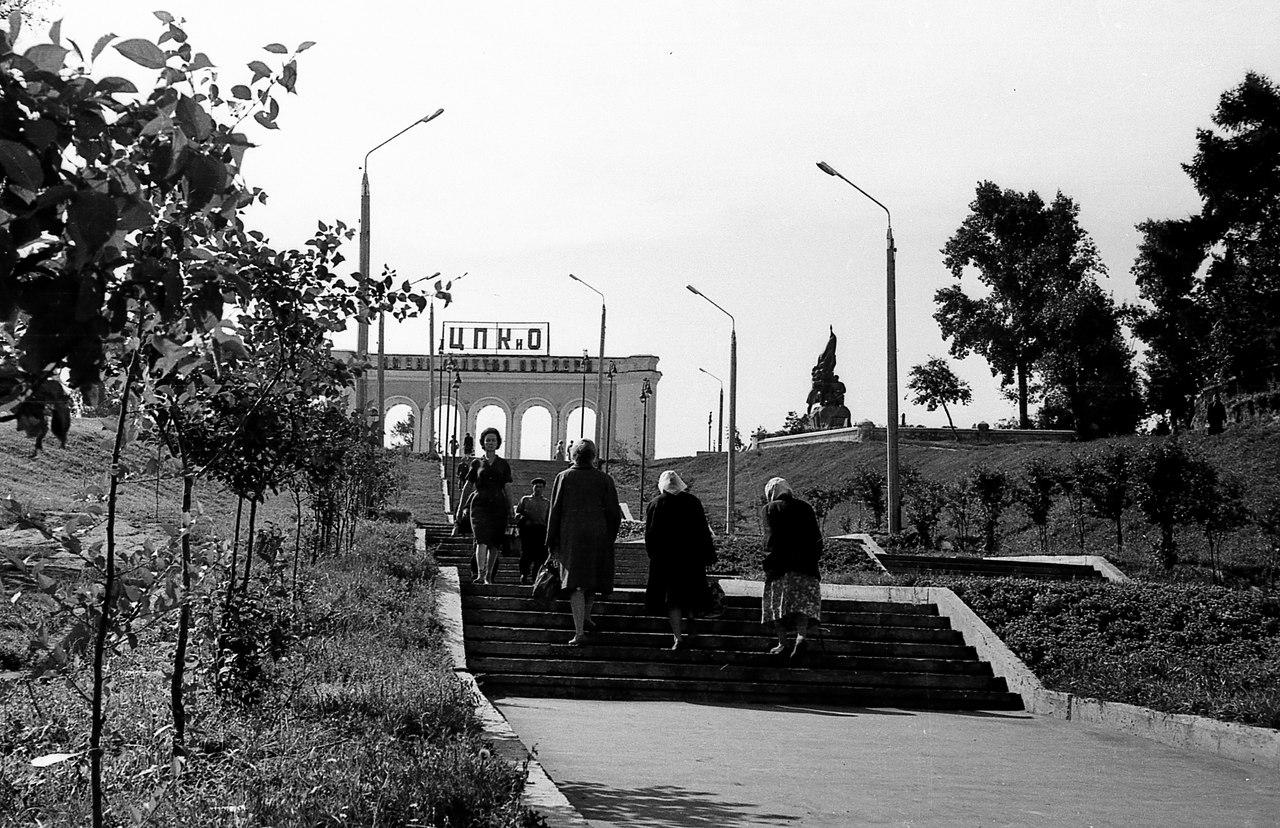 1961. Лестница к ЦПКиО