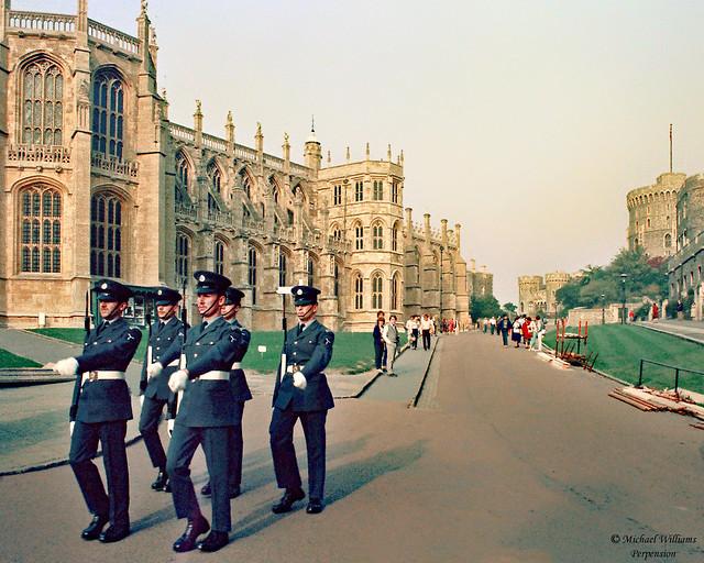 Troops at Windsor Castle