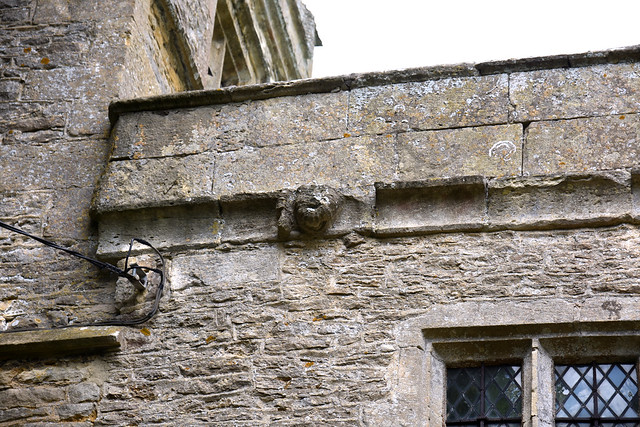 Black Bourton, Oxfordshire, St. Mary the Virgin, exterior, detail