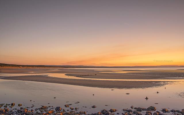 Beach sunset...