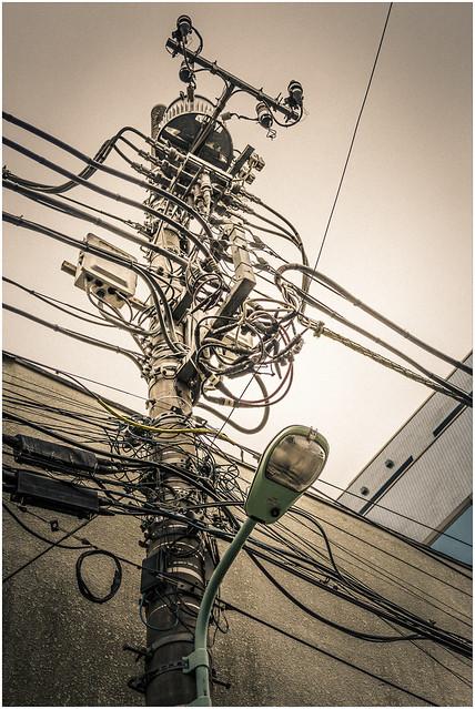 Shibuya Utility Pole, Tokyo [Explore]