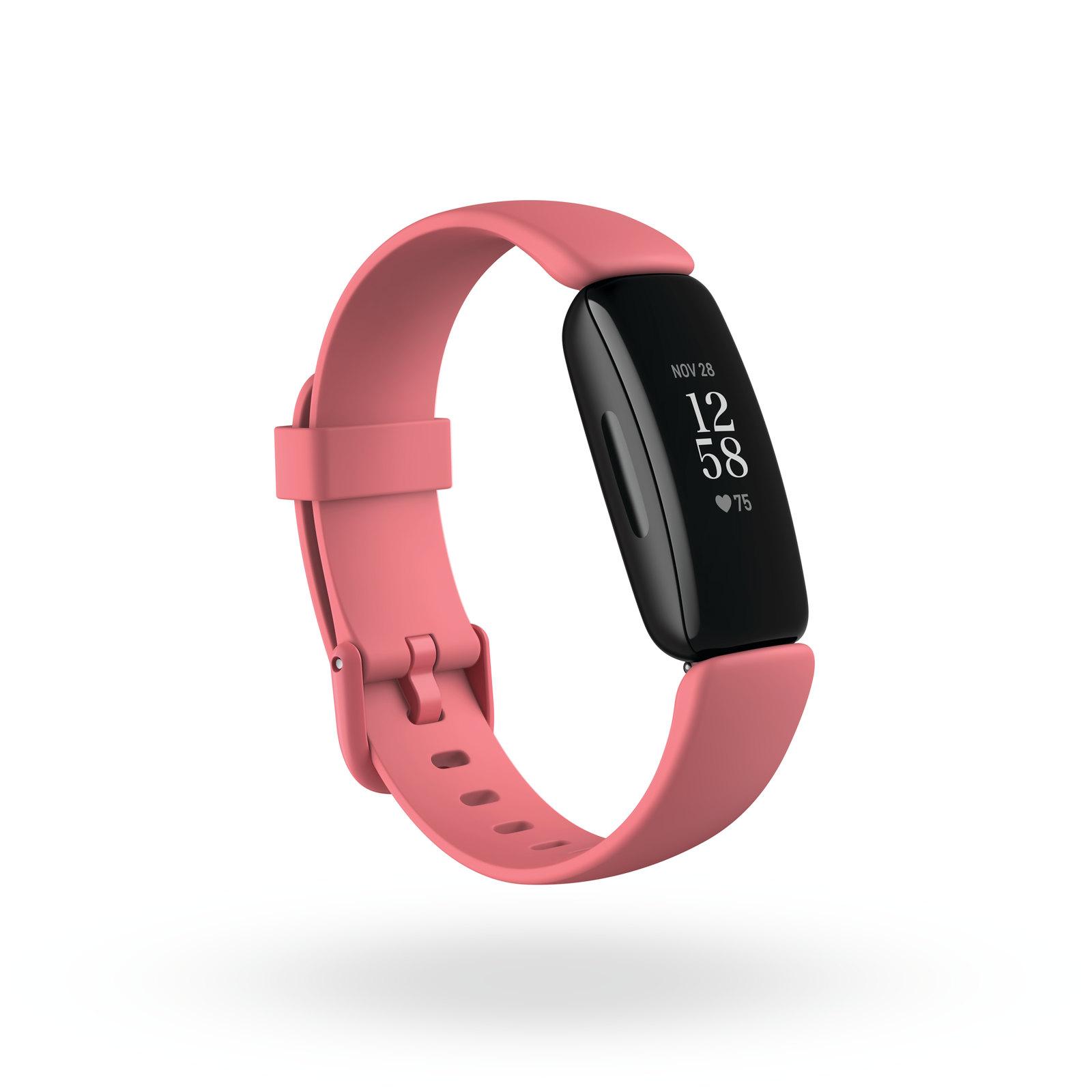 圖四(4):Fitbit 免費開放 Fitbit Inspire 2 裝置健康指標儀表板功能,協助用戶檢視一周的關鍵健康指標