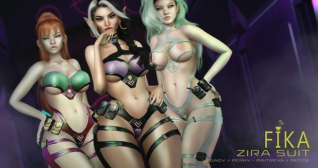 - Fika - Zira Suit @Cyber Fair