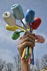 Le u201c Bouquet of Tulips u201c - Jeff Koons