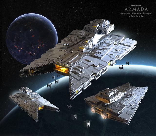 Gladiator Star Destroyer fleet