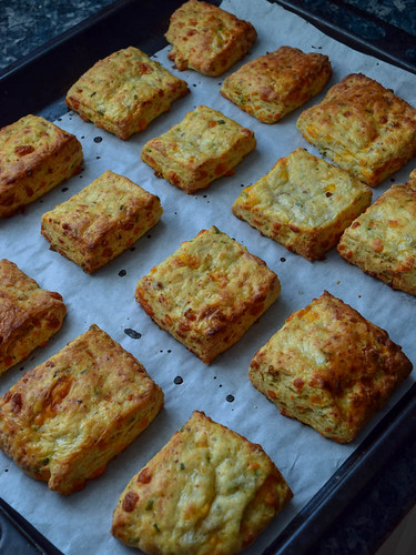 Sausage and cheddar buttermilk biscuit 2