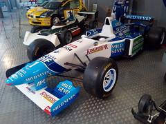 Michael Schumacher's Benetton Renault B195