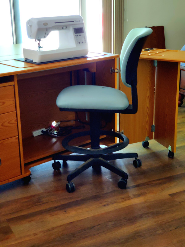 Cabinet, Chair, Extension