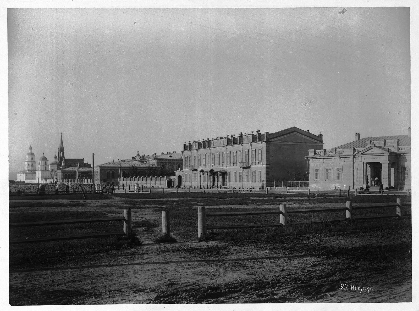 59. Тихвинская площадь. 1875